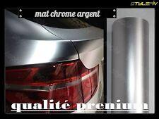 film covering mat chrome gris argent 152 x 30 cm thermoformable adhésif