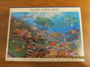 US Stamps Sheet of 10 PACIFIC CORAL REEF 37 CENTS 6TH IN SERIES scott#3831