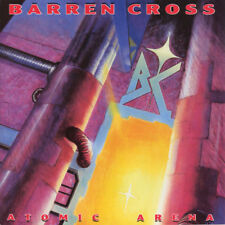 BARREN CROSS - ATOMIC ARENA (*CD, 1988, Enigma) Original Issue Xian Metal