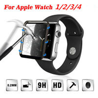 Tempered Glass Screen Protector For iWatch Apple Watch 4/3/2/1 38/42/40/44mm US