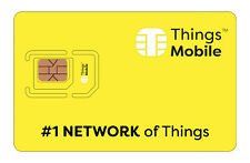 SIM Card Things Mobile per IOT, M2M, GPS tracker, ecc. con 10 € di credito