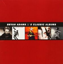 5 Classic Albums / Bryan Adams (5CD Box: Reckless, 18, Live, Neighbors, MTV) NEW