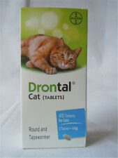 Bayers Drontal Dewormer For Cat -10 Tablet Allwormer Tapewormer USA Shipping
