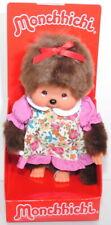 Monchhichi 236470 Dressed Flower Print Girl Mädchen mit geblümten Kleid 20 cm