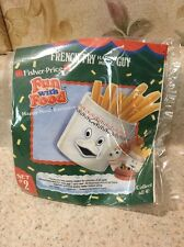 Vintage 1980s McDonalds Happy Meal Toy Fisher Price Fun With Food FRENCH FRY GUY