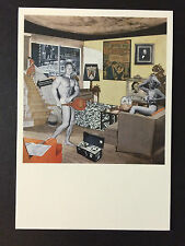 RICHARD HAMILTON,  artist's card, Tate Modern gallery, 2014