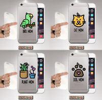 Coque Pour , Samsung, Silicone, Doux, Animaux, Transparent, Plantes, Bird