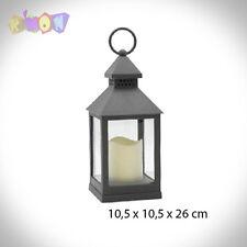 4989 FAROL PLAST VELA LED PEQ LISO GRIS