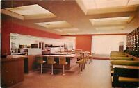 Indiana~Coffee Shop at Glass House Restaurant on Toll Road 1959