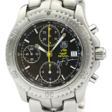 Polished TAG HEUER Link Chronograph Ayrton Senna Limited Watch CT2115 BF506851