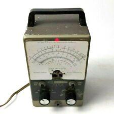 Heathkit Model Im 11 Vtvm Vacuum Tube Voltmeter For Parts Turns On