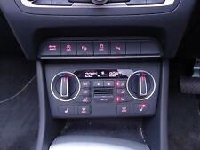 2015 - 2017 Audi Q3 S Line Quattro Climate Heater A/C Control Panel