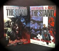 STEPHEN KING: THE STAND 2 HCS 1) CAPTAIN TRIPS *2) AMERICAN NIGHTMARE ~ PANDEMIC