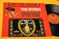 THE BYRDS LP SWEETHEART OF RODEO ITALY ONLY DIFF COVER EX