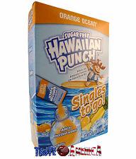 Hawaiian Punch Sugar Free Orange Ocean Singles To Go Drink Mix 26.9g Box