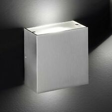 Honsel LED Wandleuchte Lax 2-flg Nickel Glas Flur Diele Küche Büro Lampe Leuchte