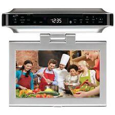 "GPX IKTD1037S 10"" Under-Cabinet DVD/CD Bluetooth® Player with FM Radio"