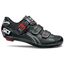 Sidi Genius Fit Carbon Road Bicycle Cycling Shoes All Black Size 43 EU