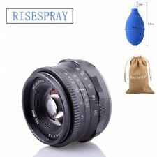 RISESPRAY 35mm F1.2 Manual Focus Lens for Panasonic Olympus m43 MFT mount Camera