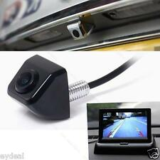 HD Black CCD 170degree Car Rear View Side Front Color Night Vison BACKUP Camera