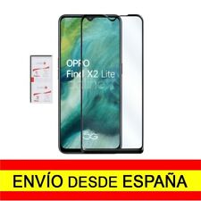 Cristal Templado 3D 9D Curvo OPPO FIND X2 LITE Protector Completo Negro a4623 nt