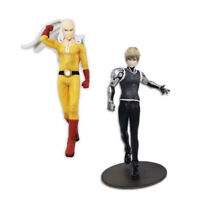 "BANPRESTO ONE PUNCH MAN DXF-PREMIUM FIGURE SAITAMA/GENOS 7.87""ANIME FIGUR JAPAN"