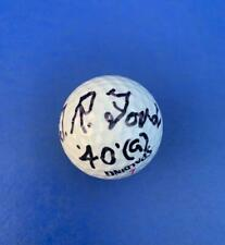 New listing Vintage President Gerald R Ford Autographed Spalding Boy Scout Golf Ball w. COA