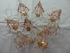 Hanging Christmas tree decorations. 8 pieces