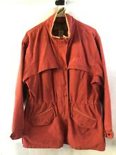 OUTBACK TRADING CO Vagabond Jacket MD Sueded Camel BUSH OUTFITTERS Vented Coat