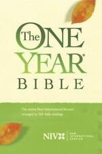 The One Year Bible by Tyndale House