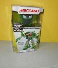 Meccano-Erector Micronoid Named Blaster Programmable Robot Building Kit New