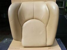 Mercedes Seat Backrest Front 67 - Left Beige Perforated Heated | R129 Pre Face.