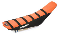 Bud Racing Seat Cover Black/Orange Black Stripes KTM 85SX 09-15