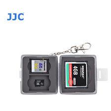 JJC MC-8D Memory Card Case fits 1CF 2 SD 2 MSD T6I T7I 80D 70D 6D 5500D 3200D D5