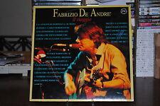 FABRIZIO DE ANDRE' IL VIAGGIO  33 GIRI LP