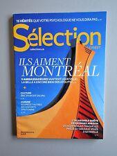 Selection Reader's Digest Magazine Novembre 2013 Fr.  Neuf  Ils aiment Montréal