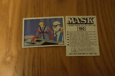 Mask Panini sticker 1986 ( M.A.S.K.  Kenner parker toys ) number 190