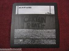 """HEARTLESS Certain Death 7"""" Masakari Cursed Nails Baptists Wartorn"""