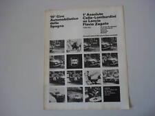advertising Pubblicità 1966 LANCIA FLAVIA ZAGATO