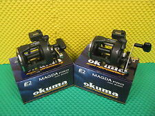 Okuma Magda Pro MA 30DX Line Counter Trolling Reels 2 PACK