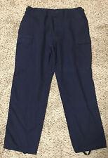 3 pair LOT PROPPER Navy Blue Tactical Cargo Pants EMT Police Men's size L/R
