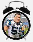 """Luke Kuechly Alarm Desk Clock 3.75"""" Home or Office Decor E467 Nice For Gift"""