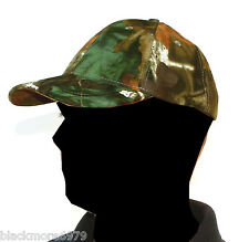 BRAND NEW Grassland Camo Baseball Cap Hat Fishing Hunting Shooting