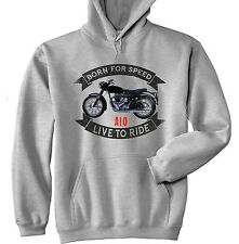 BSA A10 - GREY HOODIE - ALL SIZES IN STOCK