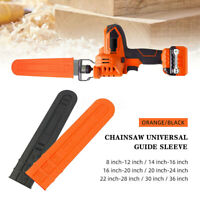 """for 8''-12'' 14""""-16"""" 36"""" Chainsaw Bar Cover Scabbard Protector Guide Plate New"""