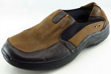 Propet Shoes Size 12 M Brown Loafer Leather Men