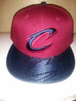 Cleveland Cavaliers New Era Team Color On-Court 9FIFTY Snapback Adjustable Hat -