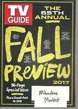 TV Guide September Sept 4 17 2017 Will & Grace S.W.A.T. Dynasty NCSI Seal Team