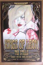 Kings of Leon Adelaide 2009 Concert Poster Art Jeremy Piert