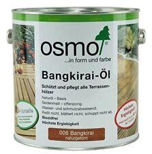 OSMO 006 Bangkirai Öl Naturgetönt 2,5 Liter